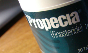 Propecia pill bottle