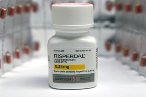 Risperidone bottle