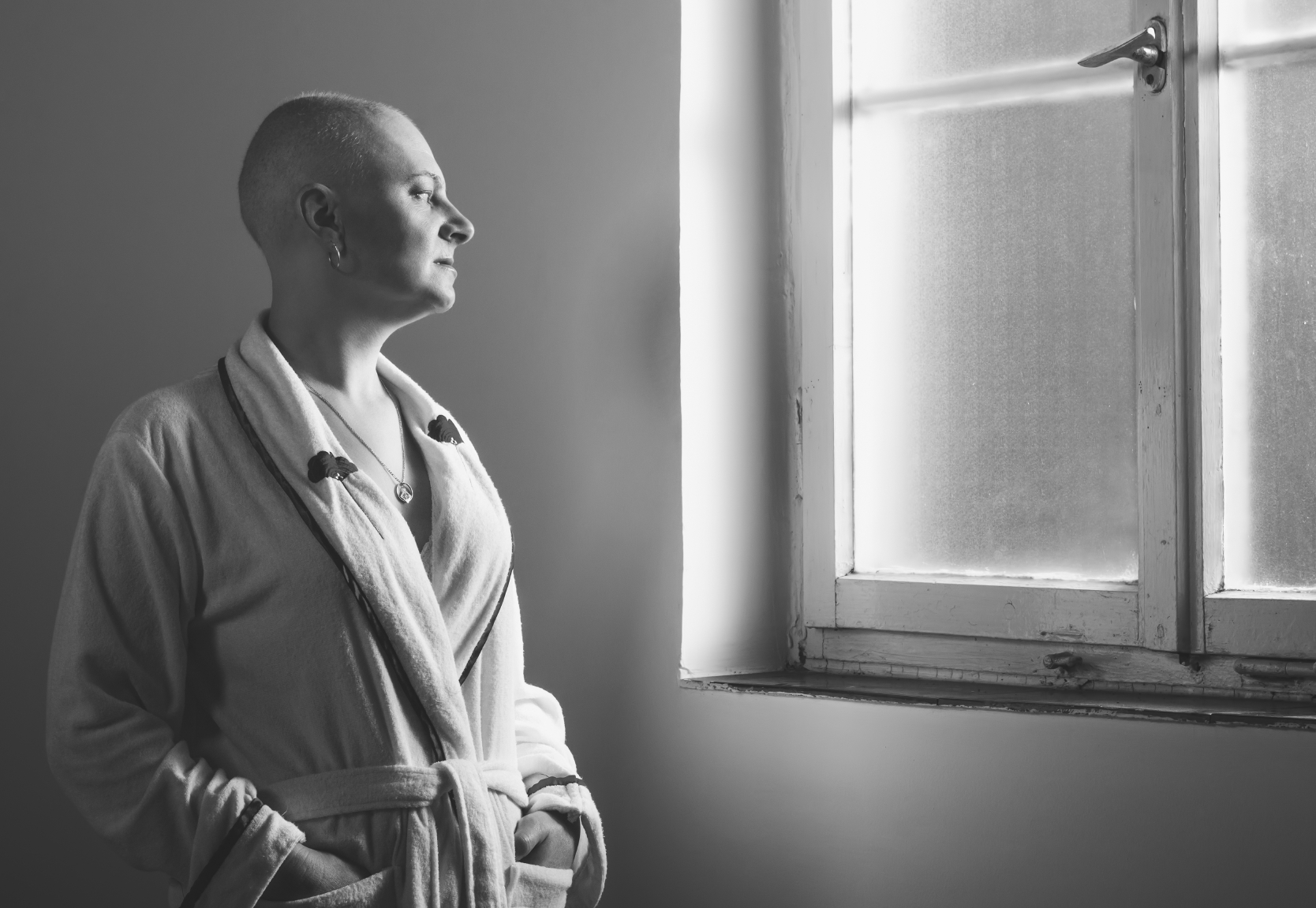 cancer patient hospital hair loss from chemotherapy